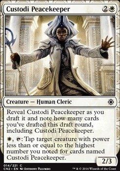 Custodi Peacekeeper (FOIL)