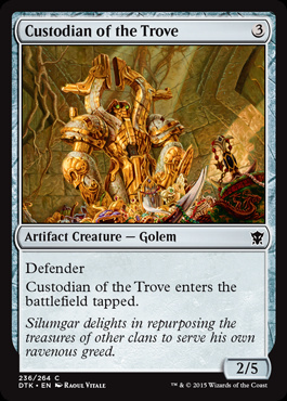 Custodian of the Trove (FOIL)