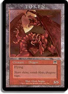 Token - Dragon (Onslaught)