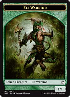 Elf Warrior Token (Masters 25)