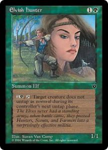 Elvish Hunter (Susan Van Camp)