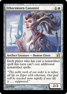 Ethersworn Canonist (FOIL)