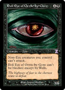 Evil Eye of Orms-by-Gore (FOIL)