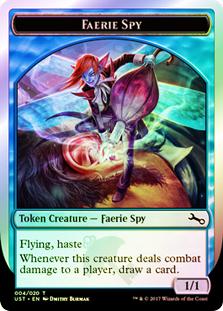 Faerie Spy Token - 004/020 (Unstable)