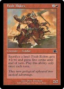 Fault Riders