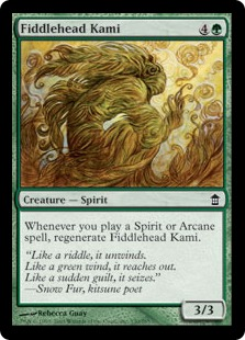 Fiddlehead Kami
