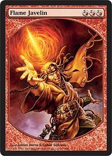 Flame Javelin (Textless)