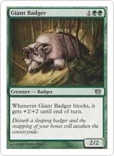 Giant Badger (FOIL)