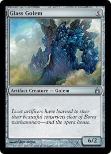 Glass Golem (FOIL)