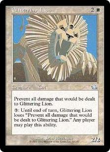 Glittering Lion