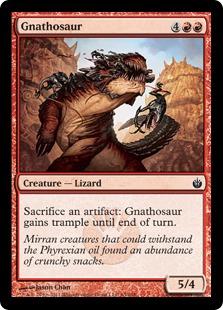 Gnathosaur (FOIL)