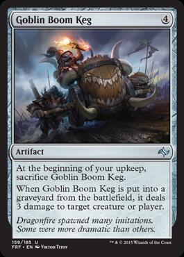 Goblin Boom Keg (FOIL)