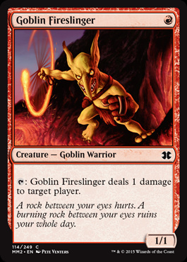 Goblin Fireslinger (FOIL)