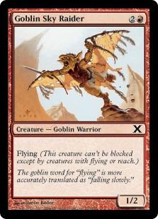 Goblin Sky Raider (FOIL)