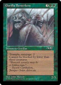 Gorilla Berserkers (Peaceful)