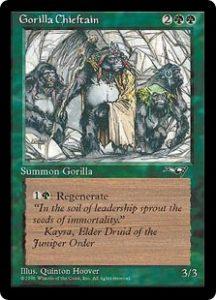 Gorilla Chieftain (Four Gorillas)