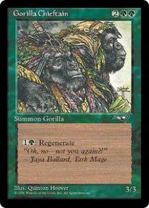 Gorilla Chieftain (Two Gorillas)