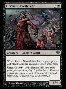 Grixis Slavedriver