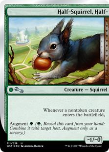 Half-Squirrel, Half-