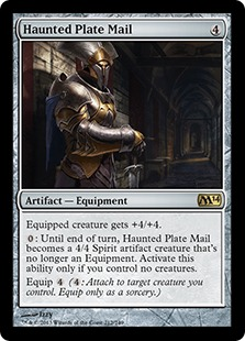 Haunted Plate Mail (FOIL)