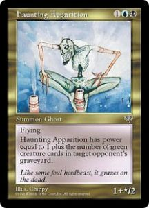 Haunting Apparition