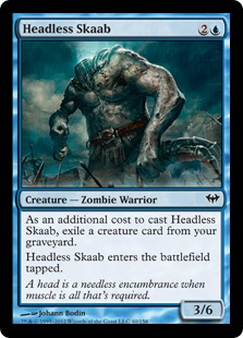 Headless Skaab (FOIL)