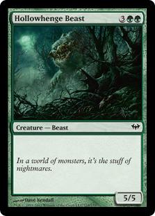 Hollowhenge Beast (FOIL)