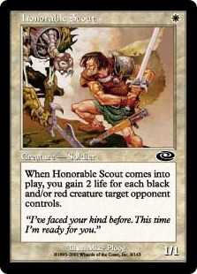 Honorable Scout (FOIL)
