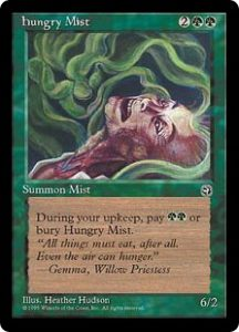 Hungry Mist (Faces)