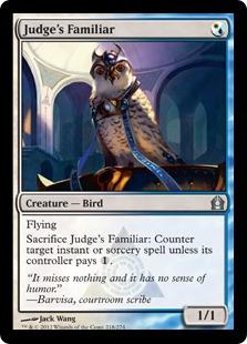 Judge's Familiar