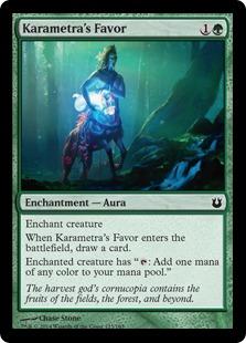 Karametra's Favor (FOIL)