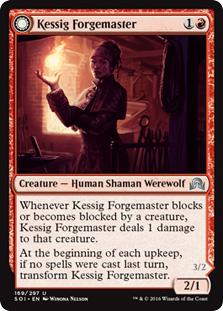 Kessig Forgemaster - Flameheart Werewolf