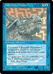 Labyrinth Minotaur (Runes)