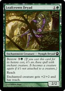 Leafcrown Dryad (FOIL)