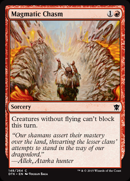 Magmatic Chasm (FOIL)