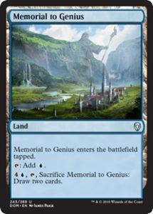 Memorial to Genius (FOIL)