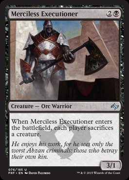Merciless Executioner (FOIL)