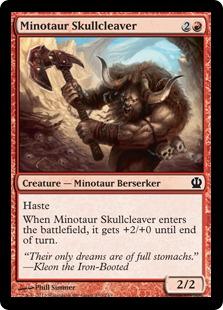 Minotaur Skullcleaver (FOIL)