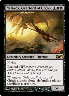 Nefarox, Overlord of Grixis (FOIL)