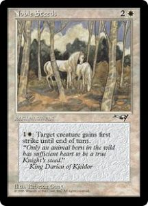 Noble Steeds (Trees)