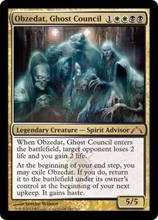Obzedat, Ghost Council (FOIL)