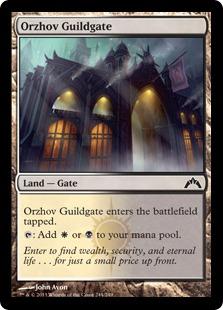 Orzhov Guildgate (FOIL)