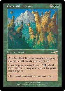 Overlaid Terrain