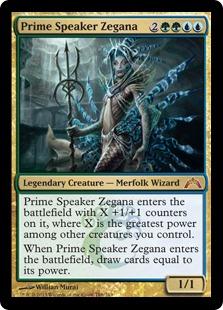 Prime Speaker Zegana (FOIL)