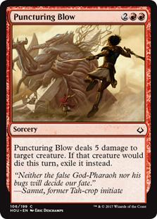Puncturing Blow (FOIL)