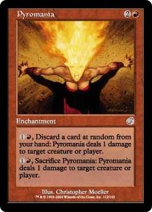 Pyromania (FOIL)