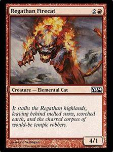 Regathan Firecat (FOIL)