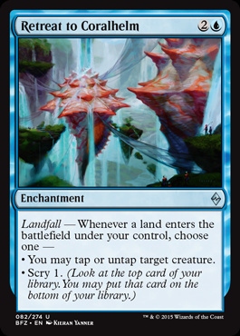 Retreat to Coralhelm (FOIL)