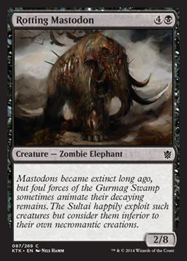 Rotting Mastodon (FOIL)