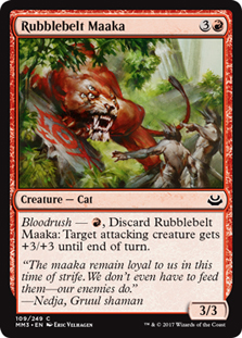 Rubblebelt Maaka (FOIL)